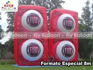 formatos especiais inflaveis promocionais fiat