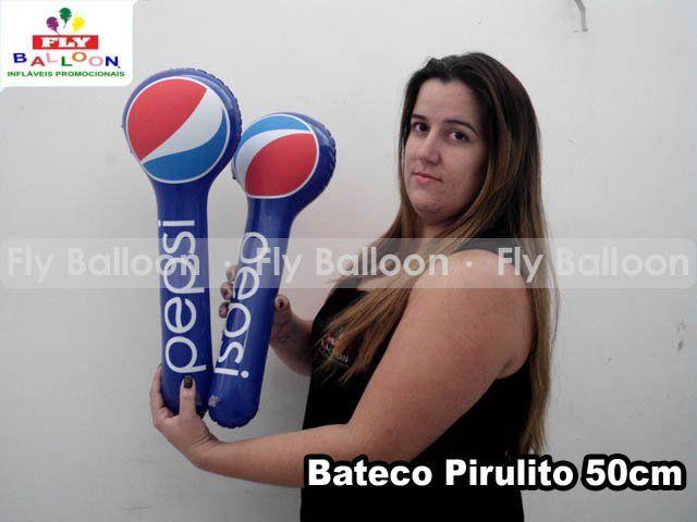 bateco inflavel promocional Pepsi