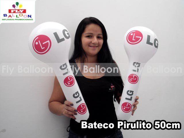 bateco inflavel promocional pirulito LG