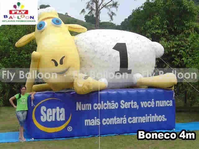 Mascotes Inflaveis Gigantes Promocionais