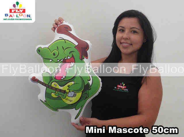 mini mascotes inflaveis promocional jacarelvis