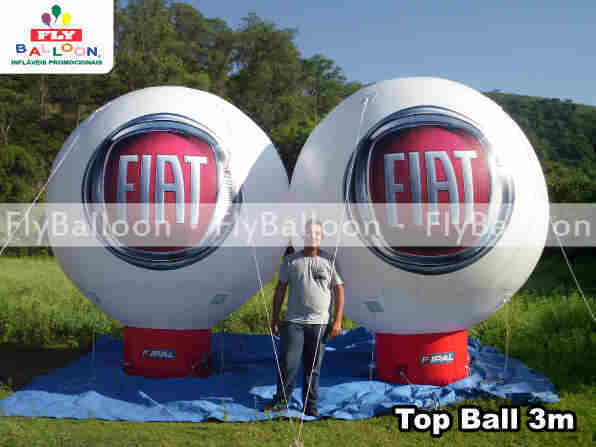 Balao Inflavel Promocional Top Ball