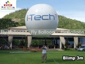 balao blimp aereo inflavel promocional i tech 7