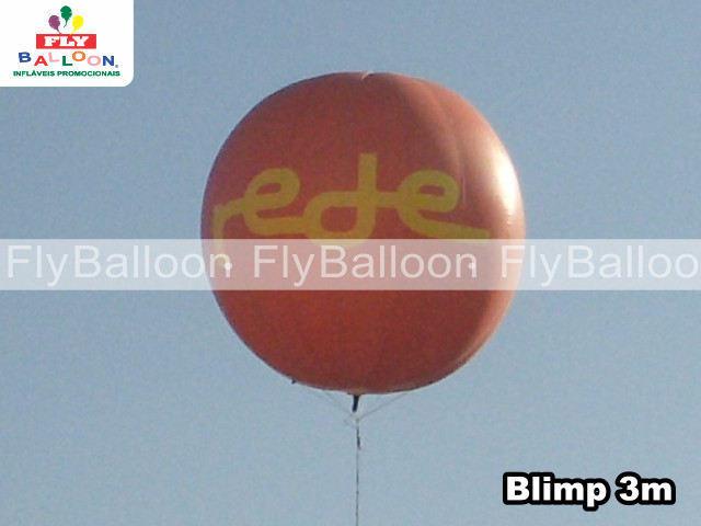 balao blimp aereo promocional rede