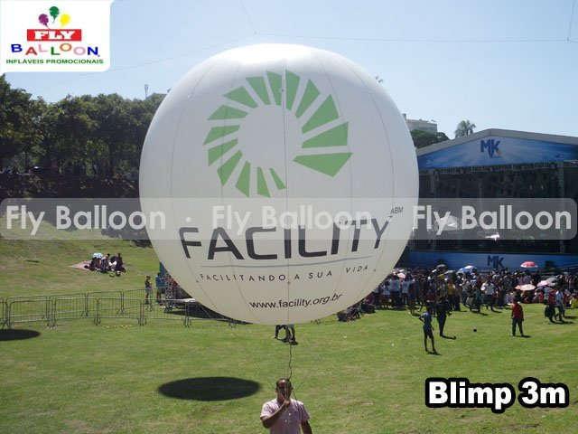 balao blimp inflavel aereo promocional facility