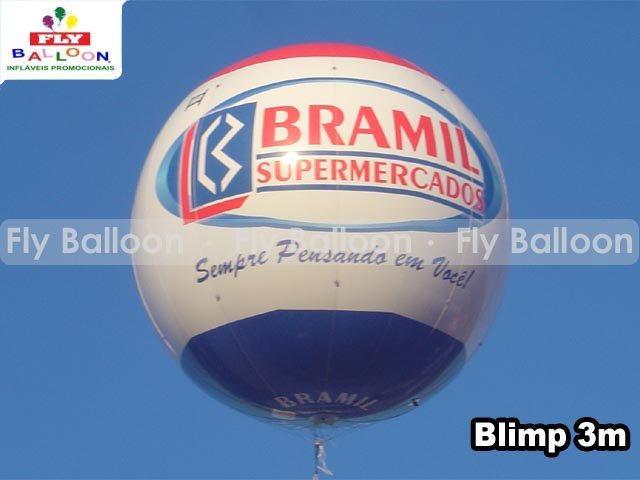 balao inflavel blimp promocional bramil supermercados