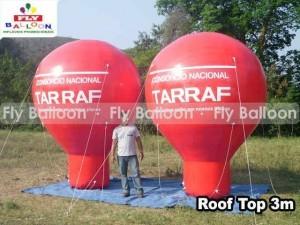 globos promocionales consorcio Tarraf