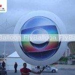 balao promocional blimp inflavel aereo tv globo