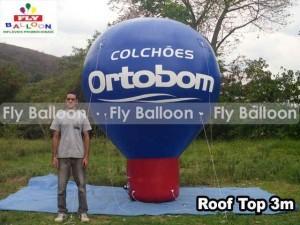 balao promocional colchoes ortobom
