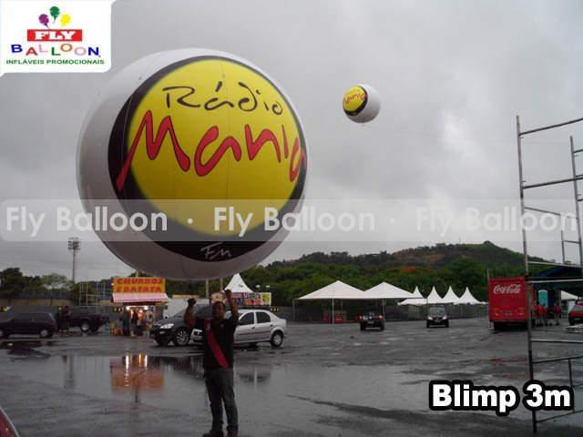 baloes blimp aereo promocional radio mania