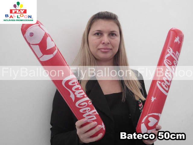 Batecos Inflaveis Promocionais coca cola