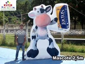 mascote inflavel promocional lactus