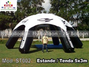 Inflatable stand in maranhao