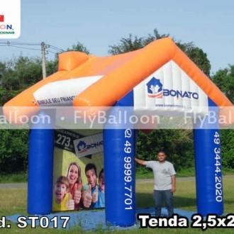 tenda inflavel promocional bonato imobiliaria