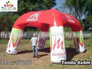 soporte inflable guaraná maraja