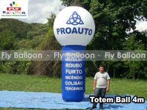 totem ball inflavel promocional proauto