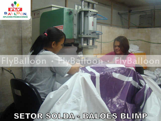 Setor solda Baloes Blimp Promocionais