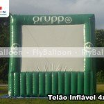 telao inflavel promocional gruppo ambiental