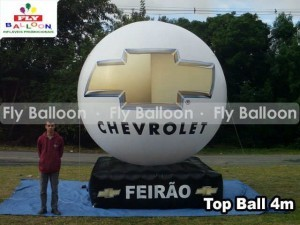 top ball inflavel FEIRAO chevrolet