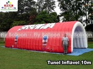 tunel inflavel promocional brahma cruzeiro