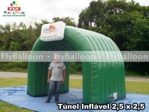 tunel inflavel em curitiba
