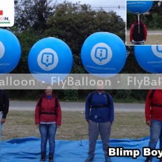 Blimp Boy promocional informacoes turisticas rio 2016