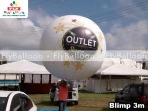 Balao Promocional Blimp outlet em Itaguai - RJ