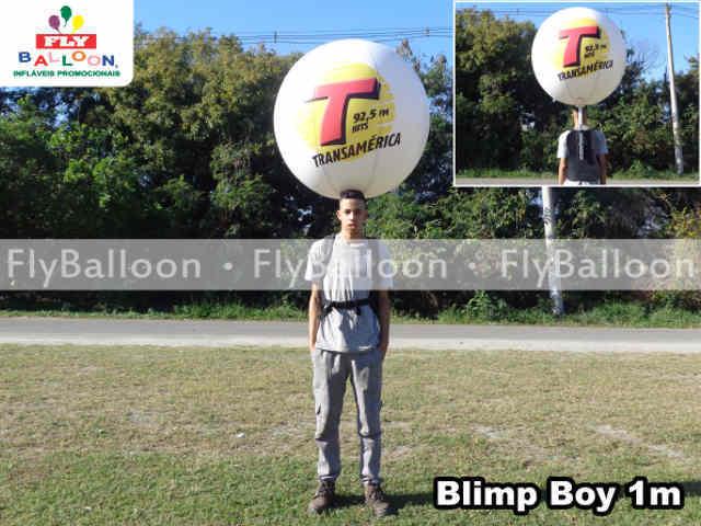Blimp Boy Inflavel Promocional radio transamerica