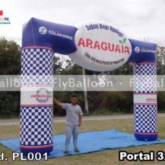Portal Inflavel Promocional adubos araguaia