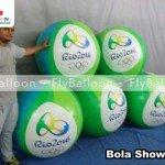 bola show inflavel promocional rio 2016