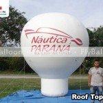 inflavel promocional roof top nautica parana em Londrina - PR