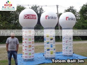 totem ball inflavel promocional inkor