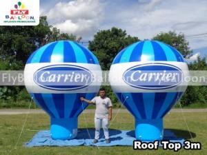fornecedor baloes promocionais roof top carrier