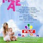 dia das Maes 2015 fly balloon inflaveis promocionais
