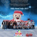 natal 2014 fly balloon inflaveis promocionais