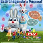 Promotional inflatable Easter 2015