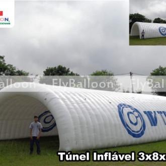 tunel inflavel promocional tv tem em sorocaba - SP