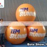 bola show inflavel promocional tem running em Sorocaba - SP