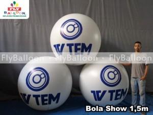 Bola Show Inflavel em SP - Fly Balloon Bola Show Inflável Promocional b38238d401d13