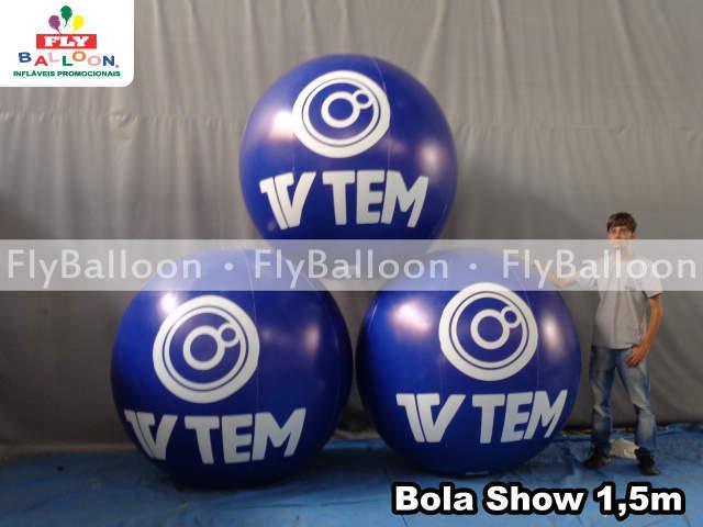 bolas inflaveis promocionais tv tem em Bauru - SP