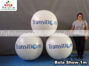 Bola Show Inflavel em Sao Bernardo - Fly Balloon Infláveis Promocionais 82bd70c4913bb