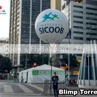 balao blimp torre inflave instituto sicoob no Rio de Janeiro - RJ