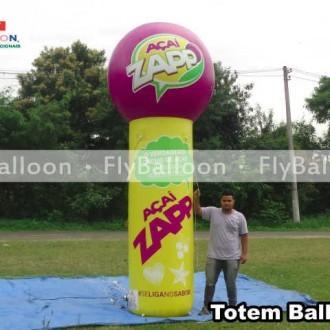 totem ball inflavel acai zapp em Campo Belo - MG