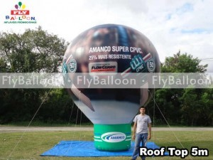 balao promocional roof top amanco super CPVC