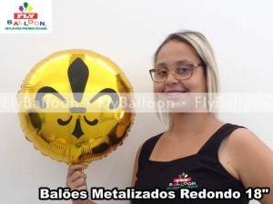 baloes metalizados personalizados dudalina em São Paulo - SP