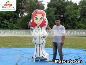 Mascote inflavel promocional farmacia prever em Sao Jose do Rio Preto
