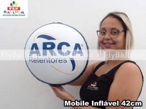 mobile inflavel promocional arca retentores em Jaboticabal - SP