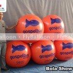 bola show inflavel gospelbay