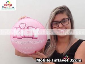 mobiles inflaveis promocionais kidy no coracao das meninas