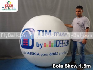 bola show inflavel tim music